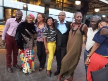 Nigeria ALI Fellows meeting to discuss their community projects. Lagos 2015